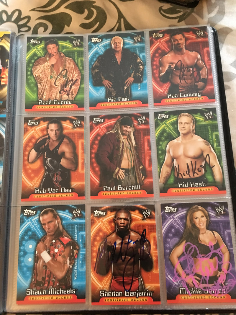 2006 WWE Insider - My Wrestling Autograph Collection